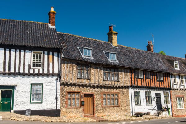 Little Walsingham photo, Historic buildings opposite the Shirehall