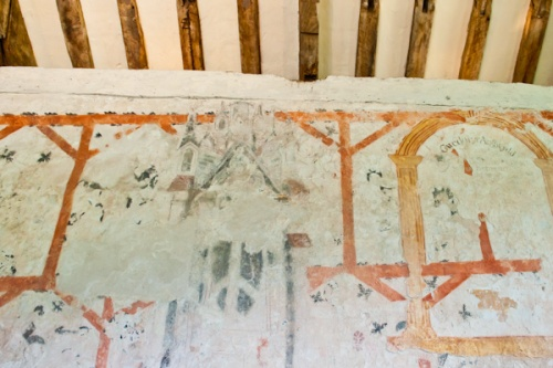 Llangar Church wall paintings