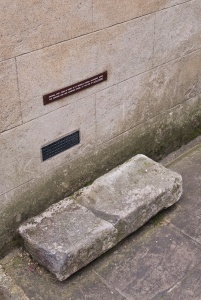 Little Dorrit's step from St George's, Southwark