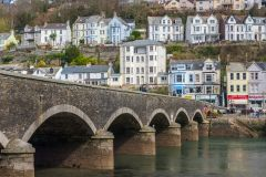 East Looe and the town bridge