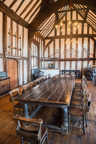 Lord Leycester's Hospital photo, The Guildhall, 1450