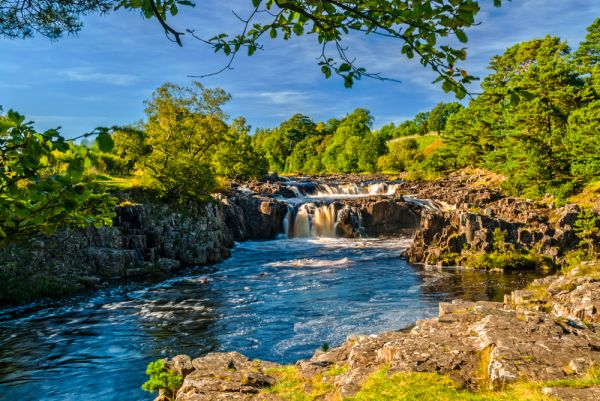 Low Force Waterfall  Teesdale