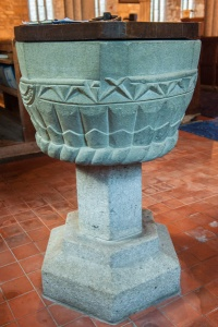 12th century Norman font