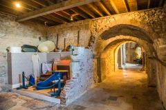 Lulworth Castle, The castle cellars