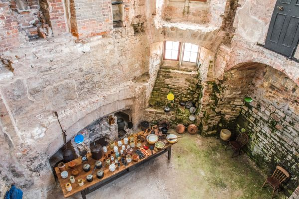 Lulworth Castle photo, The King's Kitchens