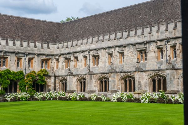 Magdalen College, Oxford photo, New Quad