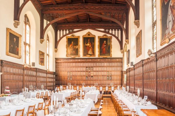 Magdalen College, Oxford photo, The Hall