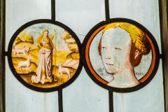 Mapperton, All Saints Church, 16th century Flemish glass roundels