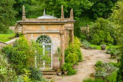 Mapperton Gardens, The neo-classical summer house
