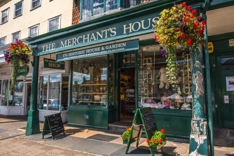 The Merchant's House front entrance
