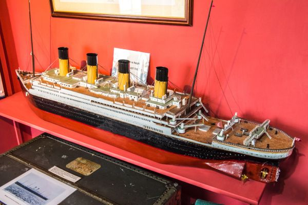 Maryport Maritime Museum photo, A scale model of the Titanic