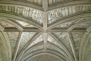 Vaulting of the gatehouse arch