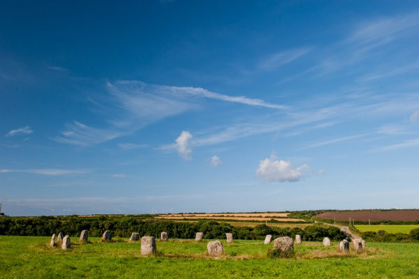 The Merry Maidens stone circle