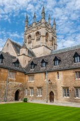 Merton College, Oxford, Mob Quad and the chapel