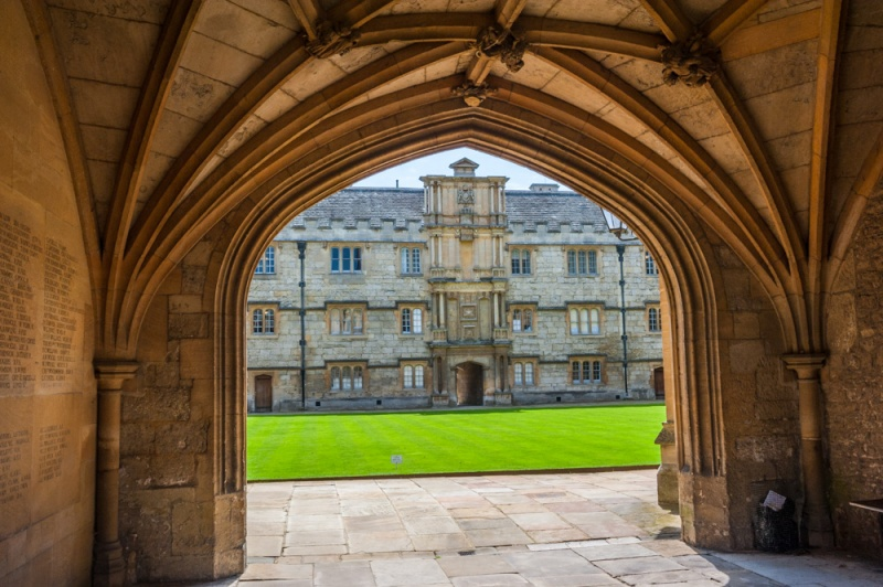 Merton College entrance