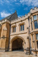 Merton College, Oxford, Gateway in Front Quad