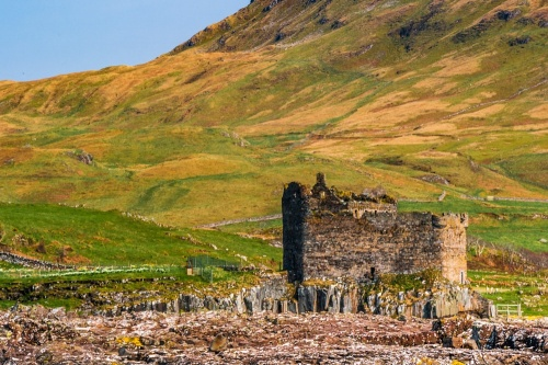 Mingary Castle from Port nan Spainteach