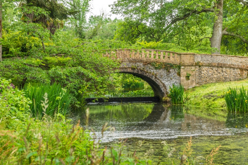 Catherine's Bridge at Minterne Gardens