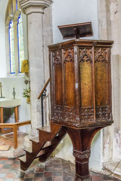 The 1450 pulpit