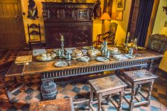 Moseley Old Hall, The dining table