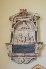 Edwin Anguish memorial, 1628