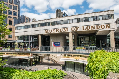 The Museum of London entrance