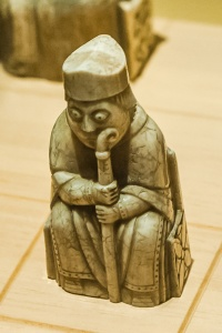 One of the Lewis Chessmen