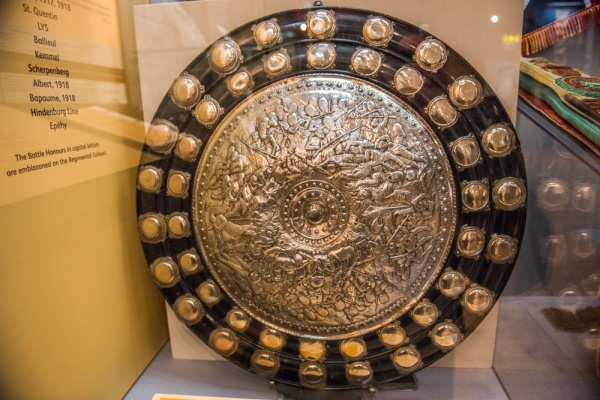 The Burnaby Shield, Royal Leicestershire Regiment Museum