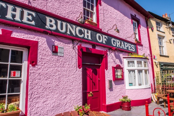 The Bunch of Grapes pub, Newcastle Emlyn