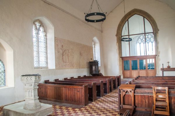 Newton Green, All Saints Church photo, The church interior