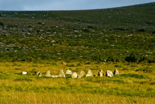 The Nine Maidens Stone Circle