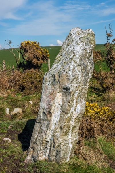And another standing stone