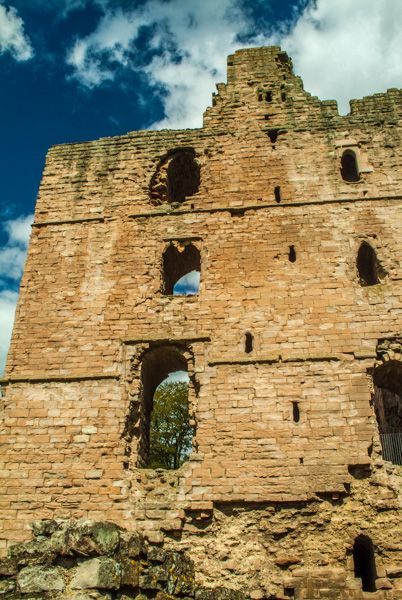 Norham Castle photo, The Keep tower