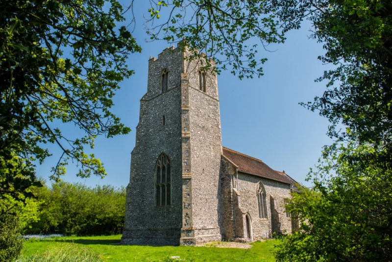 St Peter's church, North Barningham