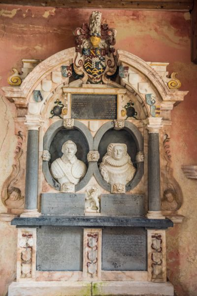 North Barningham, St Peter's Church photo, Sir Augustine and Lady Elizabeth Palgrave, 1639