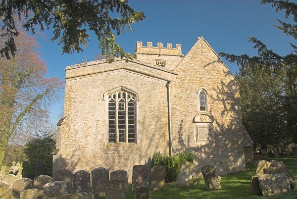 St Nicholas church, Lower Oddington