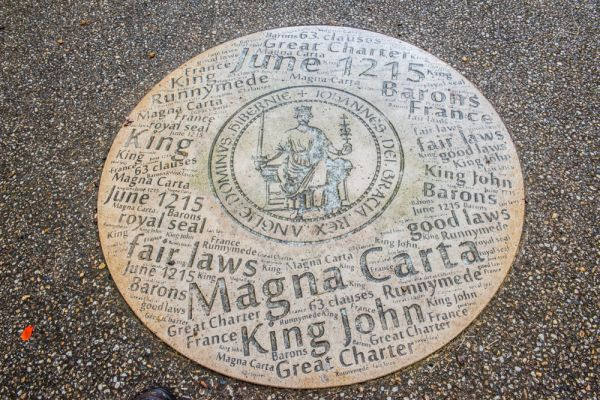Odiham Castle photo, The Magna Carta memorial