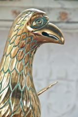 15th century Peter's Pence eagle lectern