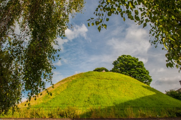 Oxford Castle mound