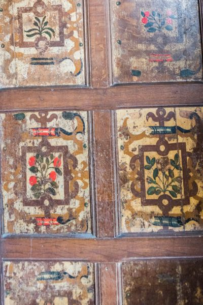 Oxford Painted Room photo, Painted panelling in the antechamber
