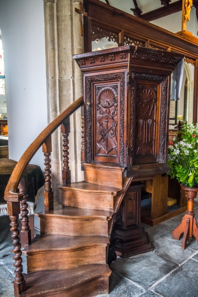 The 16th century pulpit
