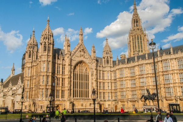 The Palace of Westminster, London