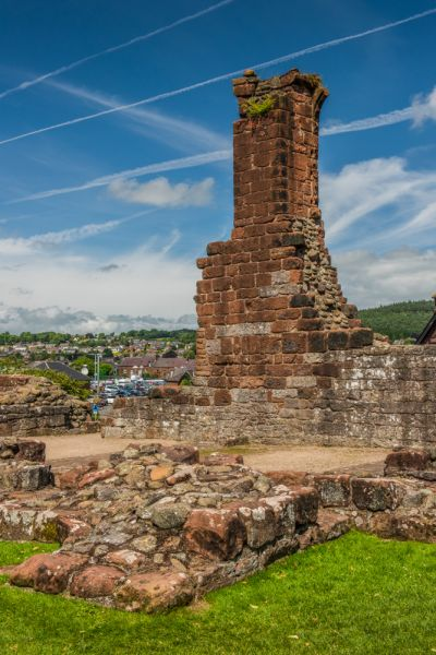 Penrith Castle photo, Ralph Neville's early 15th century tower