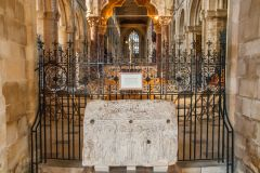 Peterborough Cathedral, The 8th century Hedda Stone
