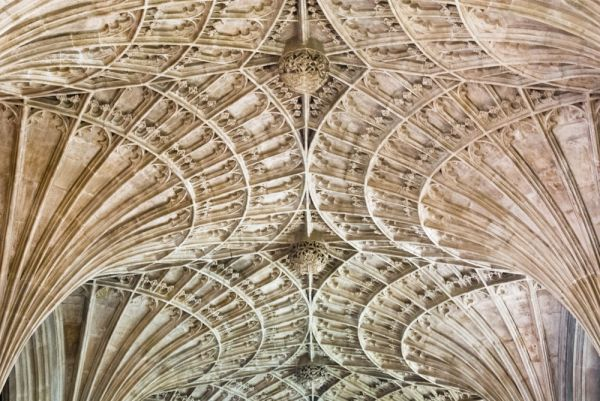 Peterborough Cathedral photo, Fan vaulting in the New Building