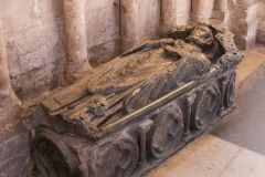 Peterborough Cathedral, Tomb of Alexander of Holderness (d1226), abbot of Peterborough