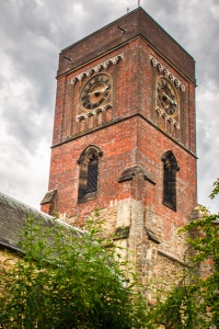 The tower of St Mary's, Petworth