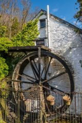 Crumplehorn water mill