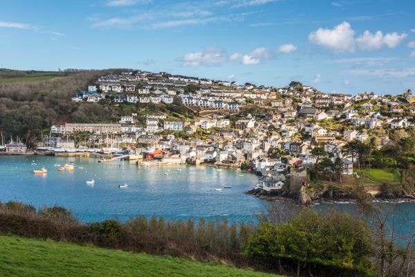 Fowey photo, Polruan from the Esplanade in Fowey
