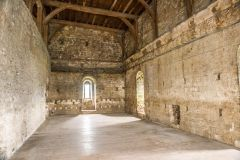 Inside the 14th century Great Tower